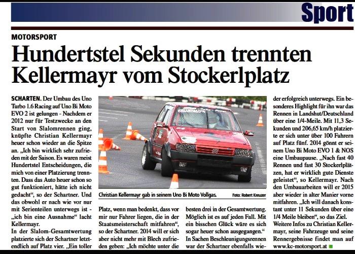 Pressebericht 2013