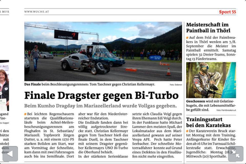 Pressebericht-Woche.at 2013